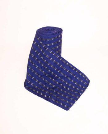 Textile typique du Guatemala - Modèle bleu jaspe