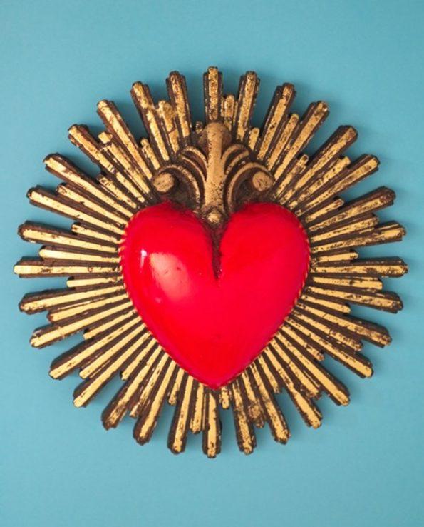 Grand coeur rayonnant 100% écoresponsable