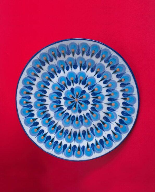 Assiette en céramique artisanale du Guatemala