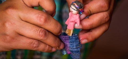 poupées tracas du Guatemala