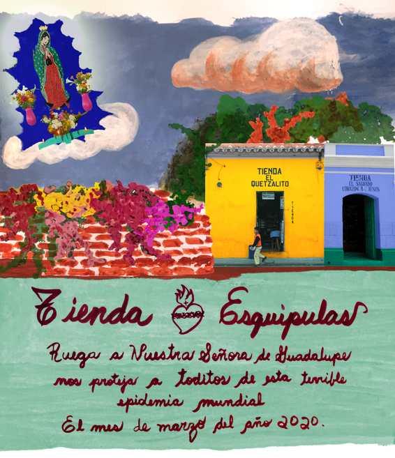 Exvoto covid19 Tienda Esquipulas small