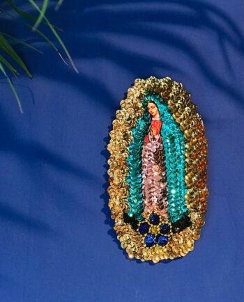 Ecusson à coudre Vierge de Guadalupe