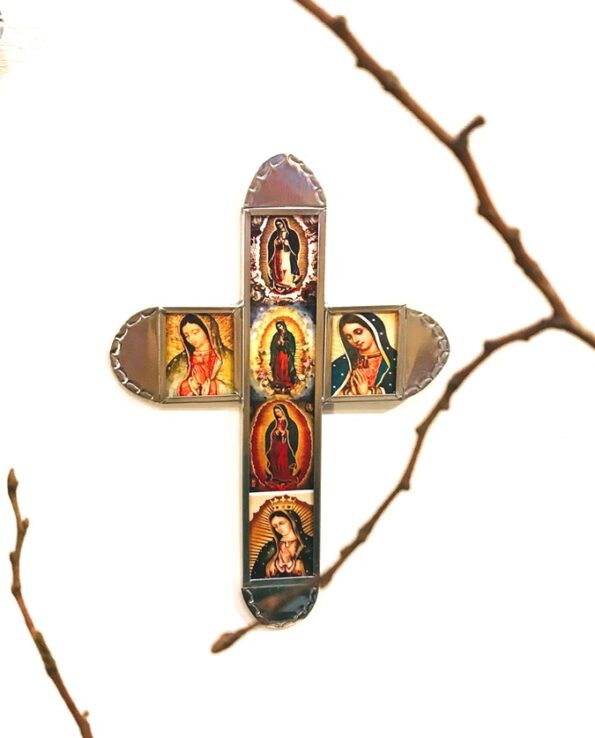 Croix mexicaine Vierge