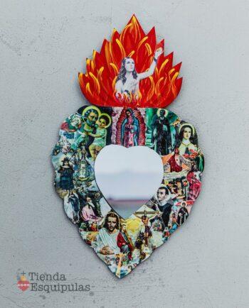 Coeur miroir todos santos