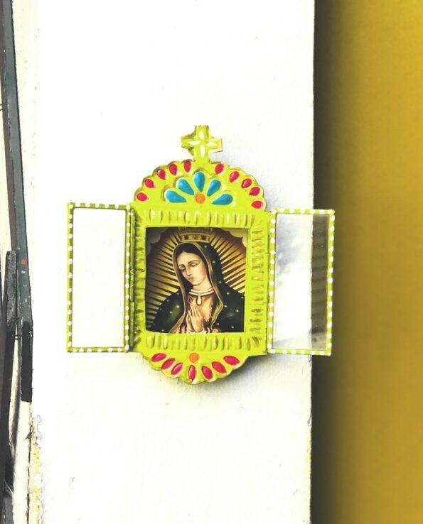 Niche mexicain fenêtre Vierge