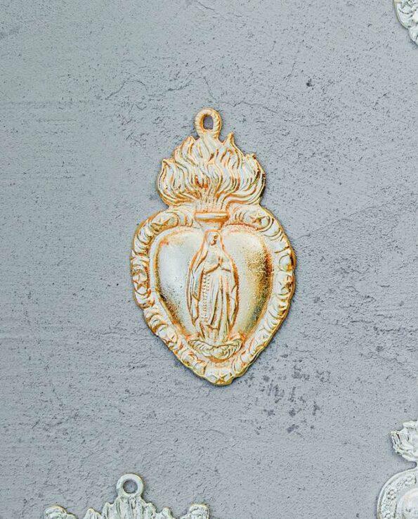 Milagro mexicain Vierge de Guadalupe - doré