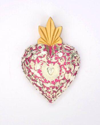 Coeur sacré milagros Rose